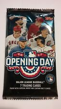2017 Topps Opening Day 7 Card Pack MLB Autographs and Relics Available         *