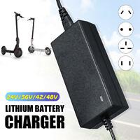 Electric Bike Lithium Battery Charger For 24v 36V 48V Two-wheel Balance
