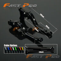 CNC Extending Folding Brake Clutch Levers For Hyosung GT250R 06-10 GT650R 06-09