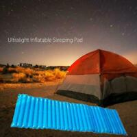 Handy Outdoor Inflatable Mattress Air Bed Beach Sleeping Fashion Camping Pad NEW