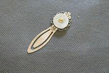 20 Gauge Shotgun Shell Silver Head Bookmark; Shooting Sports Jewelry