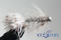 ICE FLIES. Streamer fly, Magnus.  Size 2, - 10 (3-pack)