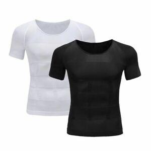 1 Pc Men Slimming Belt Belly Vest Body Shaper Fat Burning Shape Sweat Corset Fit