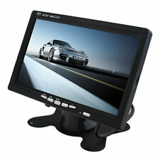 Portable 7 TFT LCD Digital Color Screen Monitor for Car Rear View New F5