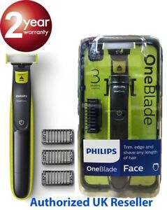 Phillips One Blade  - To Trim, Edge and Shave Any Length Of Hair Wet or Dry