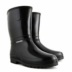 Ladies Waterproof Wellington Textile Lining Boots Wellies Walking Rain Women