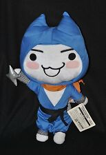 Peluche chat Sony Cat FUNCOLLECTION TAITO Doko Demo Issyo Ninja 45 cm 100% NEUF