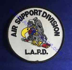 """LAPD LOS ANGELES POLICE Air Support Division Buzzard Logo NEW!! 4"""""""