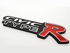 Honda Civic TypeR Emblem black logo badge Sticker decal JDM Brand New Type R
