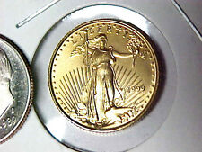 1999 $5 Gold American Eagle 1/10 oz Gold Coin BU Uncirculated Condition