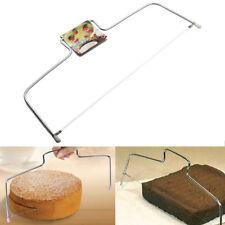 UK Adjustable Wire Cake Slicer Cutter Leveller Decorating Bread Wire Decor Tool