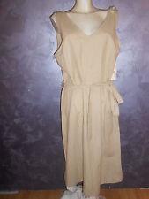 abito vestito  blitz  tg.54/XXXL  col. Sabbia  in viscosa/cotone