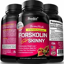 Forskolin for Weight Loss 100% Pure Extract (10X Trim & Slim Results) All Natura