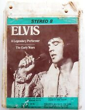 CARTRIDGE TRACK TAPE CASSETTA STEREO 8 ELVIS THE EARLY YEARS 70 s
