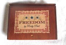 Rocky Patel Freedom Robusto Wood Cigar Box - Nice!