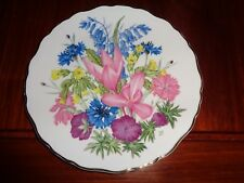 Royal Albert Limited Edition Collectors Plate ABC From AN A-Z OF WILD FLOWERS
