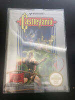 "Castlevania (Nintendo Entertainment System, 1987) ""Sealed, Plastic Wrapping"""