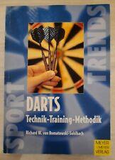 Darts Technik-Training-Methodik Buch, Trends Sport, Meyer & Meyer Verlag