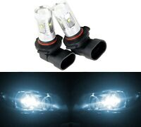 LED 30W 9006 HB4 White 6000K Two Bulbs Head Light Replace Show Use Low Beam