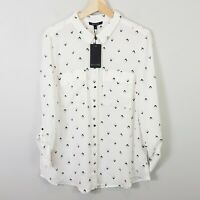 [ BASQUE ] Womens  Patterned Shirt NEW + TAGS  | Size AU 14 or US 10