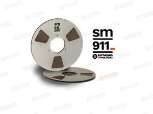 "RTM Recording The Masters SM911 34120 Tonband 1/4"" 2500ft 762m NAB-Metallspule"