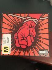 St. Anger [Digipak] by Metallica (CD) 2 Discs Cd & DVD