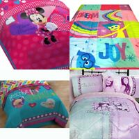 nEw GIRLS DISNEY BED COMFORTER - Minnie Mouse Doc McStuffins Blanket Cover