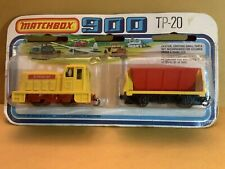 Matchbox 900 Series Twin Pack TP-20 Yellow Shunter & Red/yellow Dump Car