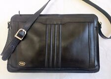 PHILLIPPE Black Leather Crossbody Shoulder Bag made in Korea *EXCELLENT*