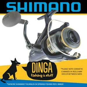 Shimano Thunnus Ci4 12000 Spinning Baitrunner Fishing Reel New