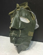 Vintage Winter Snow Mask Green - Snowmobiling, Skiing, Ice fishing, military