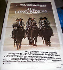The Long Riders Western Film Original Movie Poster Film 1 Sheet 800047 Cowboy 80