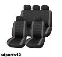 Jeep Fiat Lancia Coprisedili Nero Grigio Fodere Salva Sedili Airbag Compatibili