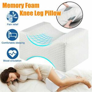Ergonomisches Knie-Kissen für Seitenschläfer Beinkissen zum Schlafen Memory Foam