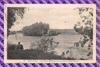 CPA 89 - SENS Les Bords de L'yonne le barrage de saint martin