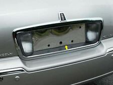 FITS LINCOLN TOWN CAR 2003-2011 STAINLESS STEEL CHROME LICENSE PLATE TRIM