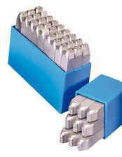 GRAVUREM-RP Schlagzahlen + Schlagbuchstaben (LOW-STRESS DOT-STYLE) 10mm