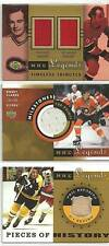 2001/2 LEGENDS GUY LAFLEUR STEVE SHUTT DUAL JERSEY