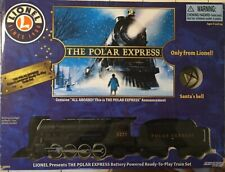 Lionel The Polar Express Battery Powered Train Set 7-11824 in Box Tested Works