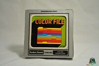 Color File for TRS-80 - Complete in Box.