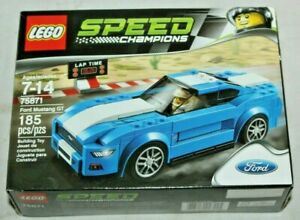 LEGO # 75871~Speed Champions-FORD MUSTANG GT~Retired Product~New in Sealed Box!