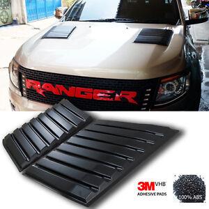 2012+ All Ranger Ute T6 Bonnet Side Simulation Vent Cover Trim T6 Px Xlt Xls Abs