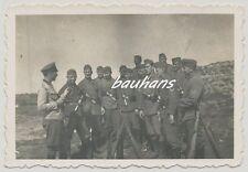 Foto-Soldaten Wehrmacht -Handgranate-K98  2.WK (Q262)