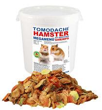 Hamsterfutter Nager Hamster proteinreich Garnelen Shrimps Gemüse Nüsse 1kg Eimer