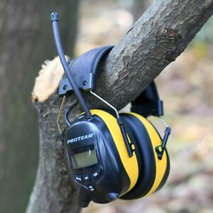 FM/AM Radio Noise Reduction Headset Protear Ear Defenders with Stereo Work Job
