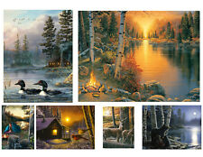 """Rivers Edge Products Led Wall Art 16""""x12"""" Choose From 6"""