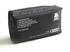 2x original Audi Chaleco impresos ASISTENCIA EN CARRETERA JUEGO Avería 8w0093056