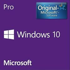 WINDOWS 10 PRO 32/64 BIT ACTIVATION KEY LIFETIME GENUINE ORIGINAL LICENSE