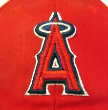 CALIFORNIA ANGELS beat-up baseball hat Anaheim beat-up red cap Los Angeles 1990s