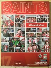 Southampton Premiership Home Teams S-Z Football Programmes